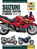 Matthew Coombs Suzuki GSX600/750F and GSX750 Service and Repair Manual: 1998-2002 (Haynes Service and Repair Manuals)