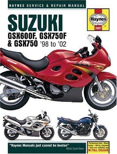 Suzuki GSX600/750F and GSX750 Service and Repair Manual: 1998-2002 (Haynes Service and Repair Manuals)