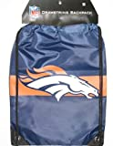 Denver Broncos NFL Logo Drawstring Backpack