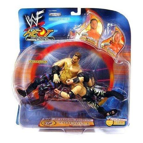 WWE (プロレス) Wrestling アクションフィギュア 人形 2-Pack Heat Backlash Chris Benoit Vs. Chris Jericho [Crossface Crippler] フィギュア おもちゃ 人形 (並行輸入) WWE