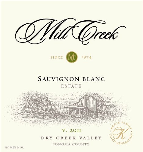 2011 Mill Creek Vineyard & Winery Sauvignon Blanc 750 Ml