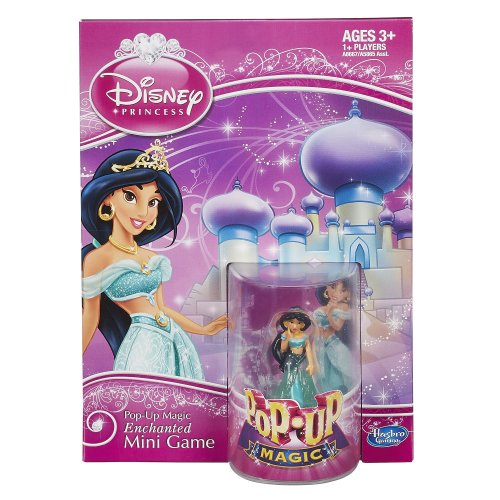 Disney Pop-Up Magic Enchanted Mini Game Featuring Jasmine