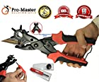 Who Else Wants It?-Belt Hole Puncher Tool-Much Less Hand Strength Needed-Punches Precise and Sharp Holes-Adjust Your Belt-The Master Revolving Leather Belt Hole Puncher-Professional Quality Belt Hole Maker!-100% Satisfaction Guaranteed!-Check It Now!