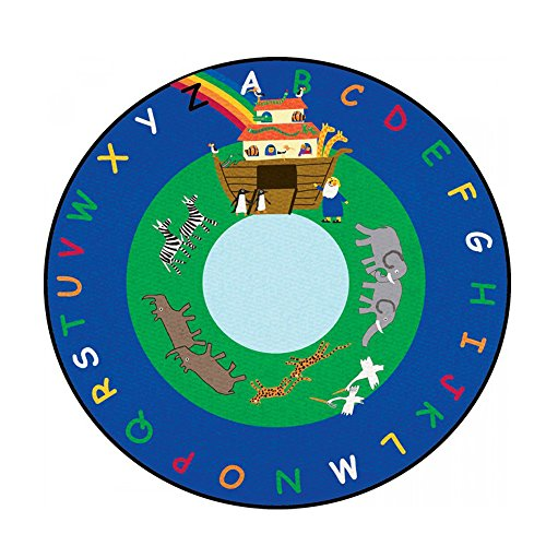 Learning Carpets Cpr442 - Noah'S Ark Round, Small front-11719