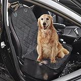 Pettom Autositzbezüge Hund Sitzbezug Hundetransport Vordersitz Nonslip Wasserdicht Verstellbar Autoschutzdecke