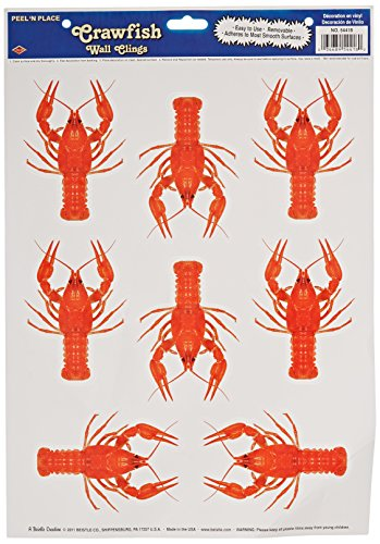 Crawfish Peel 'N Place Party Accessory (1 count) (8/Sh)