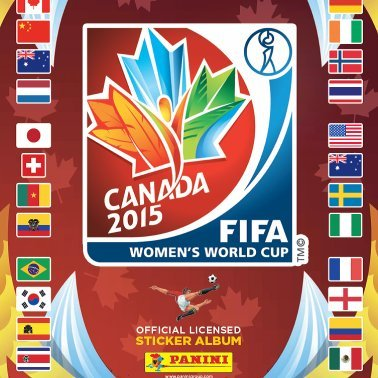 2015 FIFA Women's World Cup Sticker Album Collection (Panini Stickers World Cup compare prices)