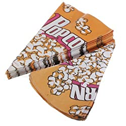 Popcorn Paper Pack Bags Cinema Candy Cookie Container