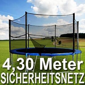 ein trampolin sicherheitsnetz f r 4 30m trampolin best preis. Black Bedroom Furniture Sets. Home Design Ideas