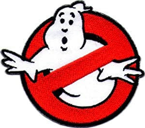 """"""" Ghostbusters """" Iron On Patch"""