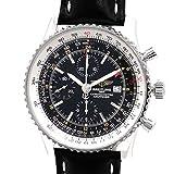 [ブライトリング]BREITLING 腕時計 ナビタイマー ワールド [純正新品革ベルト]自動巻き A24322 メンズ 中古