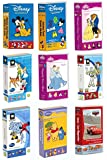 9 Cricut Disney Cartridge Bundled: Mickey and Friends & Mickey Fonts & Best of Classics & Happily Ever After & Dreams Come True & Toy Story & Best of Pixar & Pixar Car and Pooh and Friends