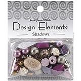 Jesse James Kunststoff Design Elements Beads 28g-shadows