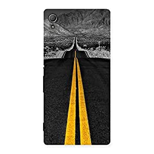 Unicovers Road Back Case Cover for Xperia Z4