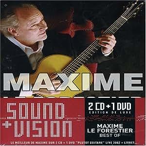 Deluxe Sound & Vision : Maxime Le Forestier  (Coffret 2 CD + 1 DVD)
