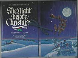 The Night Before Christmas popup book  {Reading List}