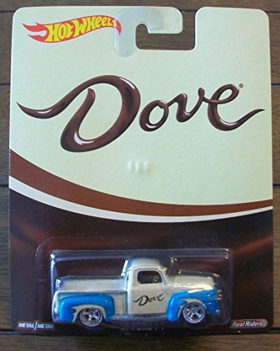 hot wheels DOVE real riders '49 ford F1 RARE