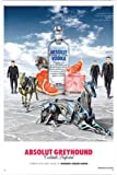 Tin Sign 20*30cm Metal Poster of Absolut Vodka Absolut Greyhound