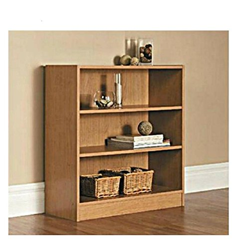 Mainstays Wide 3-Shelf Bookcase Kids 3 Shelf Bookcase