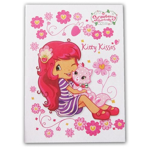 Strawberry Shortcake Trifold Memo - Strawberry Shortcake Kitty Kisses - 1