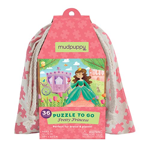 Mudpuppy Pretty Princess to Go Puzzle (36 Piece)