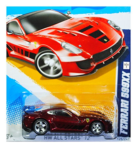 Hot Wheels 2012 Super Treasure Hunt Ferrari 599XX Secret T-Hunt Diecast Vehicle (Hot Wheels T Hunt compare prices)