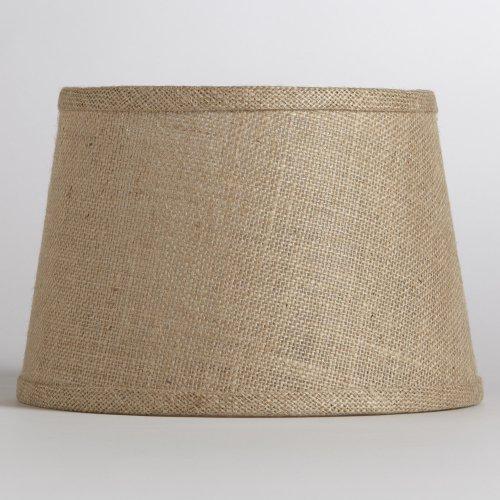 Natural Burlap Accent Lamp Shade - World Market
