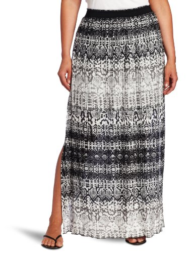 kenneth cole s plus size python stripe micro pleated