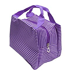 Sandistore Portable Food Bags Lunch Bags Lunch Packet Lunch (Purple)