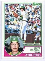 Matt Keough - 1983 Topps #413 - 来日外国人(阪神) マット・キーオ