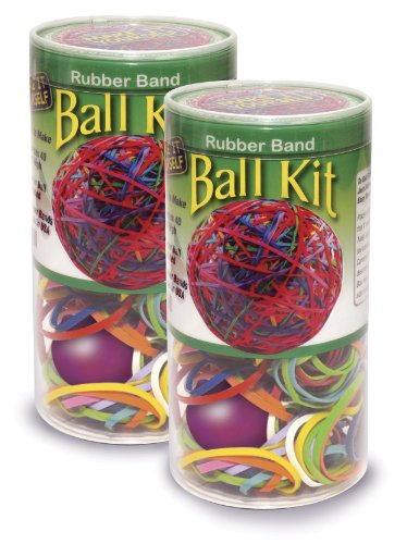 Pencil Grip Make It Yourself Rubber Band Ball Kit, TPG-502, 2 Pack (Super Bounce Ball Kit compare prices)