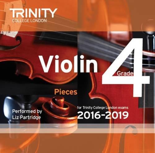 Violin CD Grade 4 2016-2019