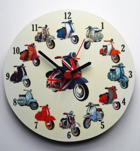 scooter-collage-clock-vespa-lambretta-ms20