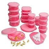 pink tupperware