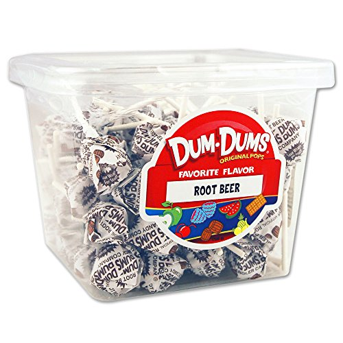 Dum Dum Pops 1 lb tub Root Beer (Beer Lollipops compare prices)