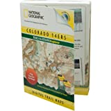 National Geographic Trails Illustrated Explorer Colorado 14ers Topograhical Map CD-ROM (Windows or M