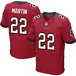 NEW MEN jerseys Tampa Bay Buccaneers Doug Martin RED ELITE Jersey by Football