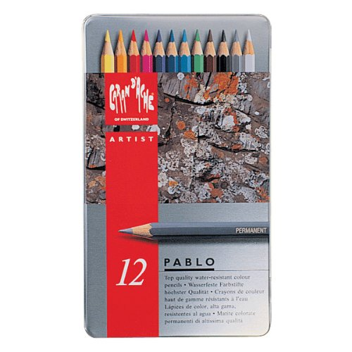 【カランダッシュ】パブロ 12色缶入(色鉛筆)