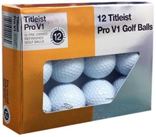 цены Titleist Pro V1x Mint Refinished Golf Ball White
