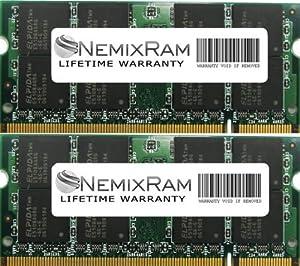 4GB (2X2GB) NEMIX RAM Memory DDR2 667MHz PC2-5300 SODIMM 200 pin for Notebook Laptop Macbook