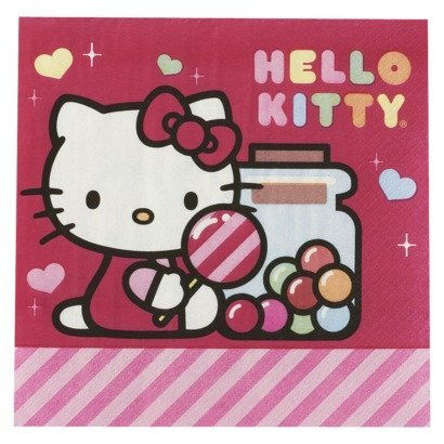Hello Kitty Sweet Napkins by dessignn