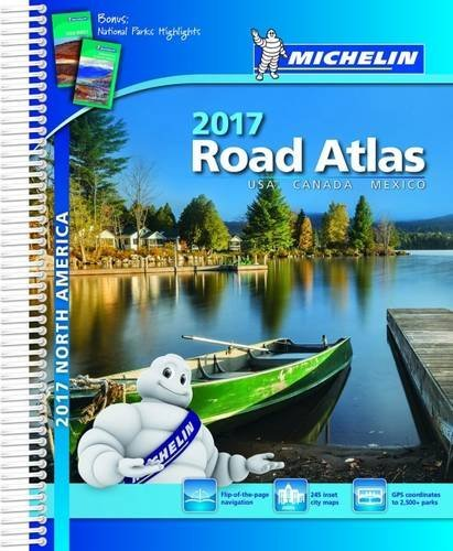 Michelin North America Road Atlas 2017