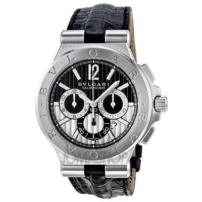 Bvlgari Diagono Calibro 303 Chronograph Automatic Mens Watch DG42BSLDCH