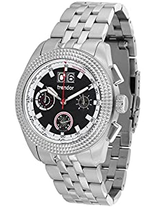 trendor 7634-01 Big Date Mens Chronograph Watch