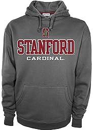 NCAA Stanford Cardinal Men\'s Huddle Up 2 Long Sleeve Hooded Top Shirt, XX-Large, Grey