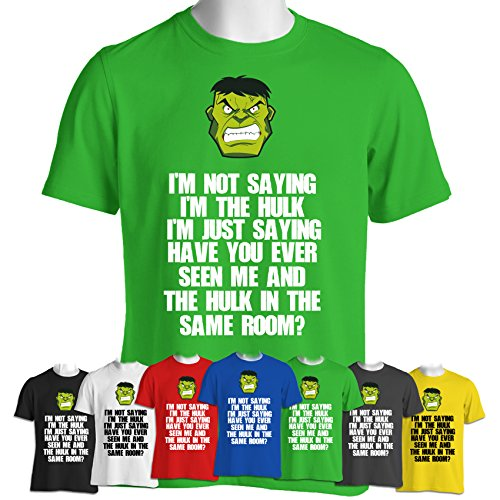 Incredible Hulk Inspired Funny T-shirt Avengers Picture