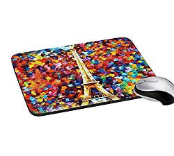 meSleep Eiffel Abstract Mouse Pads