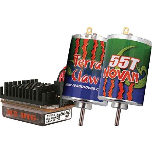 Novak M2 Dig 3S ESC & Dual Terra Claw Brushed Crawler Motor Combo (55T) (Novak Esc Motor Combo compare prices)