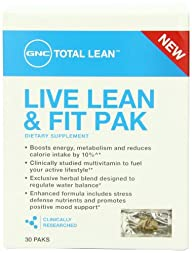 GNC Total Live Lean and Fit Pack Diet…
