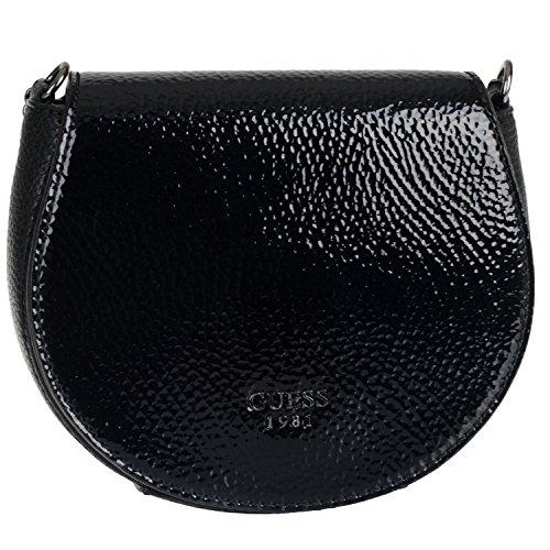 Guess Cate Petite Saddle Bag VP621679 Damen Umhängetasche 17x15,5x5cm black thumbnail